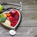 healthy foods inside heart